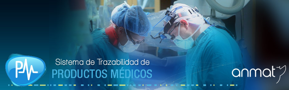 trazabilidad de productos medicos anmat